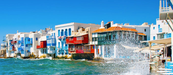 Information about Mykonos-Ferries-and-Port
