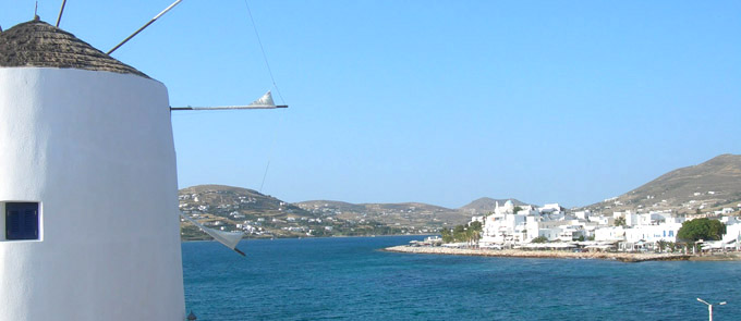 Information about Paros-Ferries-and-Port